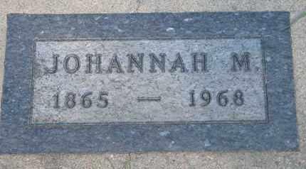 SOLEM, JOHANNAH M. - Union County, South Dakota | JOHANNAH M. SOLEM - South Dakota Gravestone Photos