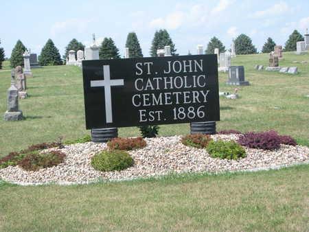 *ST. JOHN CATHOLIC-BERESFORD, ENTRANCE - Union County, South Dakota | ENTRANCE *ST. JOHN CATHOLIC-BERESFORD - South Dakota Gravestone Photos