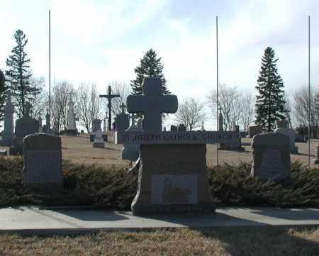 *ST. JOSEPH, EMMET - Union County, South Dakota | EMMET *ST. JOSEPH - South Dakota Gravestone Photos
