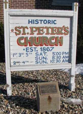 **ST. PETERS, HISTORIC CHURCH - Union County, South Dakota | HISTORIC CHURCH **ST. PETERS - South Dakota Gravestone Photos