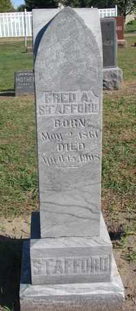 STAFFORD, FRED A. - Union County, South Dakota | FRED A. STAFFORD - South Dakota Gravestone Photos
