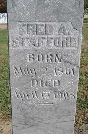 STAFFORD, FRED A. (CLOSEUP) - Union County, South Dakota | FRED A. (CLOSEUP) STAFFORD - South Dakota Gravestone Photos