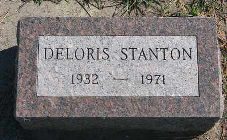 STANTON, DELORIS - Union County, South Dakota   DELORIS STANTON - South Dakota Gravestone Photos