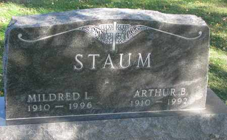 STAUM, ARTHUR B. - Union County, South Dakota | ARTHUR B. STAUM - South Dakota Gravestone Photos