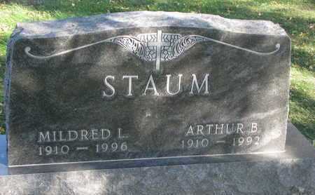 STAUM, MILDRED L. - Union County, South Dakota   MILDRED L. STAUM - South Dakota Gravestone Photos