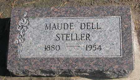STELLER, MAUDE - Union County, South Dakota   MAUDE STELLER - South Dakota Gravestone Photos
