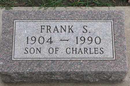 STICKNEY, FRANK S. - Union County, South Dakota   FRANK S. STICKNEY - South Dakota Gravestone Photos