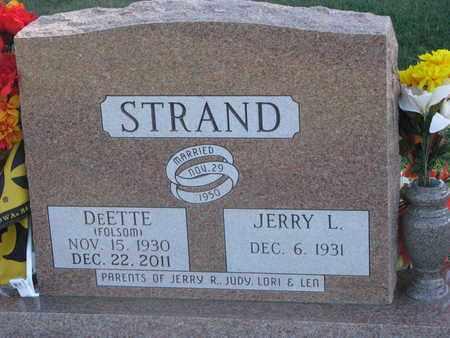FOLSOM STRAND, DEETTE - Union County, South Dakota | DEETTE FOLSOM STRAND - South Dakota Gravestone Photos