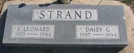 STRAND, S. LEONARD - Union County, South Dakota | S. LEONARD STRAND - South Dakota Gravestone Photos