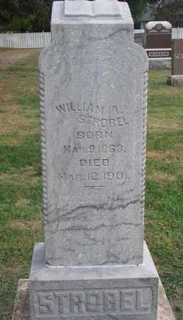 STROBEL, WILLIAM A. - Union County, South Dakota   WILLIAM A. STROBEL - South Dakota Gravestone Photos