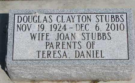 STUBBS, DOUGLAS CLAYTON - Union County, South Dakota | DOUGLAS CLAYTON STUBBS - South Dakota Gravestone Photos