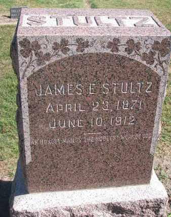STULTZ, JAMES E. - Union County, South Dakota | JAMES E. STULTZ - South Dakota Gravestone Photos