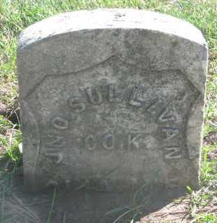SULLIVAN, JNO. - Union County, South Dakota   JNO. SULLIVAN - South Dakota Gravestone Photos