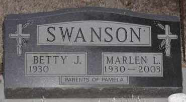 SWANSON, MARLEN L - Union County, South Dakota | MARLEN L SWANSON - South Dakota Gravestone Photos