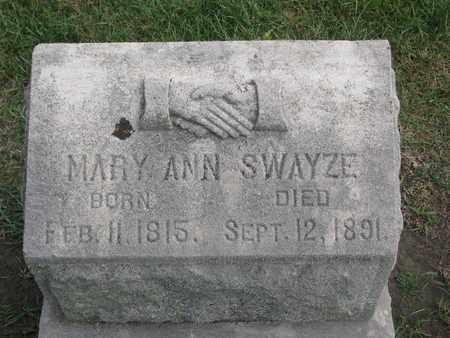 SWAYZE, MARY ANN - Union County, South Dakota | MARY ANN SWAYZE - South Dakota Gravestone Photos