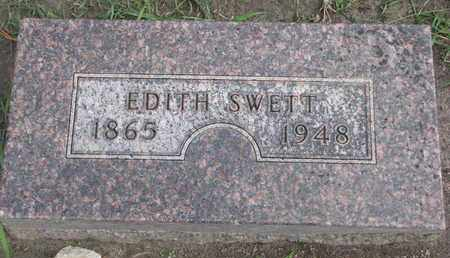 SWETT, EDITH - Union County, South Dakota | EDITH SWETT - South Dakota Gravestone Photos