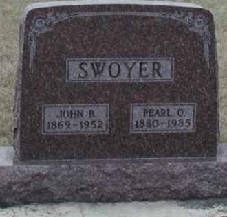 SWOYER, PEARL ORINDA - Union County, South Dakota | PEARL ORINDA SWOYER - South Dakota Gravestone Photos