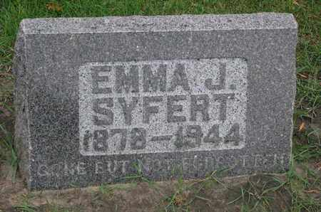 SYFERT, EMMA J. - Union County, South Dakota | EMMA J. SYFERT - South Dakota Gravestone Photos