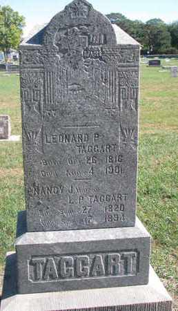TAGGART, LEONARD P. - Union County, South Dakota | LEONARD P. TAGGART - South Dakota Gravestone Photos