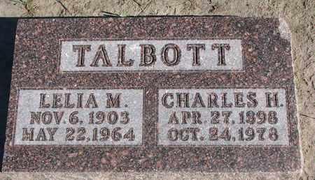 TALBOTT, CHARLES H. - Union County, South Dakota   CHARLES H. TALBOTT - South Dakota Gravestone Photos