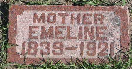 TAUBERT, EMELINE (FOOTSTONE) - Union County, South Dakota   EMELINE (FOOTSTONE) TAUBERT - South Dakota Gravestone Photos