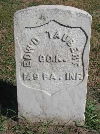 TAUBERT, EDWARD (MILITARY) - Union County, South Dakota   EDWARD (MILITARY) TAUBERT - South Dakota Gravestone Photos