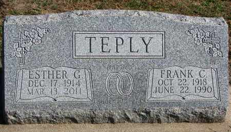 TEPLY, ESTHER G. - Union County, South Dakota | ESTHER G. TEPLY - South Dakota Gravestone Photos