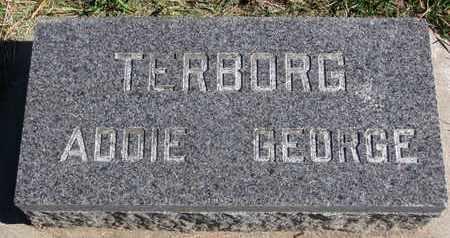 TERBORG, ADDIE - Union County, South Dakota | ADDIE TERBORG - South Dakota Gravestone Photos