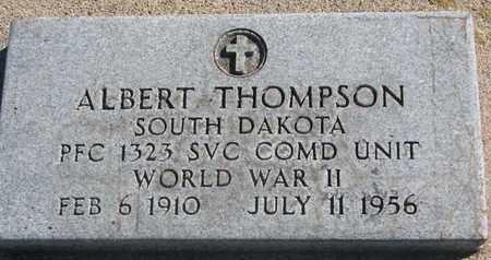 THOMPSON, ALBERT (WORLD WAR II) - Union County, South Dakota   ALBERT (WORLD WAR II) THOMPSON - South Dakota Gravestone Photos