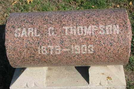 THOMPSON, CARL G. - Union County, South Dakota | CARL G. THOMPSON - South Dakota Gravestone Photos