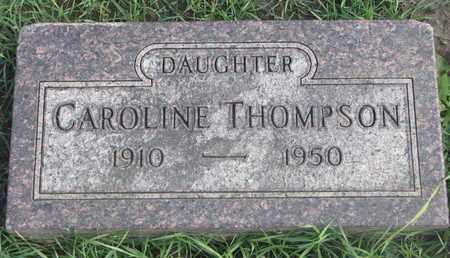 THOMPSON, CAROLINE - Union County, South Dakota | CAROLINE THOMPSON - South Dakota Gravestone Photos