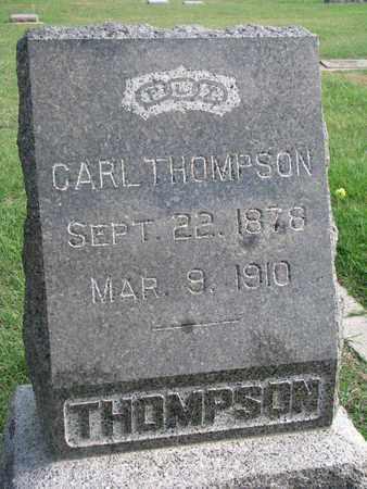 THOMPSON, CARL - Union County, South Dakota | CARL THOMPSON - South Dakota Gravestone Photos