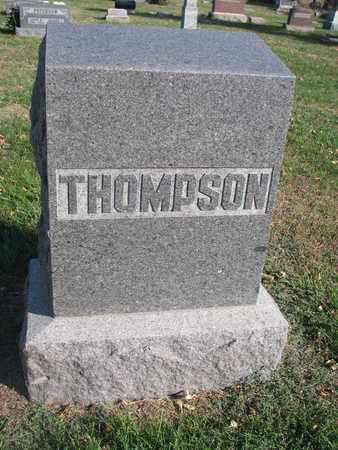 THOMPSON, FAMILY STONE - Union County, South Dakota   FAMILY STONE THOMPSON - South Dakota Gravestone Photos
