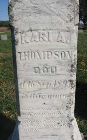 THOMPSON, KARI A. (CLOSEUP) - Union County, South Dakota | KARI A. (CLOSEUP) THOMPSON - South Dakota Gravestone Photos