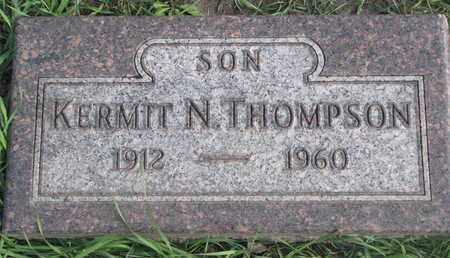 THOMPSON, KERMIT N. - Union County, South Dakota | KERMIT N. THOMPSON - South Dakota Gravestone Photos
