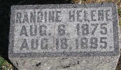 THOMPSON, RANDINE HELENE - Union County, South Dakota | RANDINE HELENE THOMPSON - South Dakota Gravestone Photos
