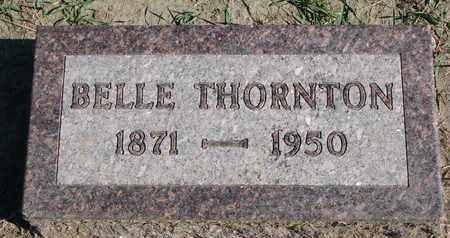 THORNTON, BELLE - Union County, South Dakota   BELLE THORNTON - South Dakota Gravestone Photos