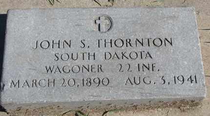 THORNTON, JOHN S.(MILITARY) - Union County, South Dakota | JOHN S.(MILITARY) THORNTON - South Dakota Gravestone Photos