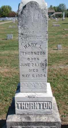 THORNTON, MARY L. - Union County, South Dakota   MARY L. THORNTON - South Dakota Gravestone Photos