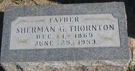 THORNTON, SHERMAN G. - Union County, South Dakota | SHERMAN G. THORNTON - South Dakota Gravestone Photos