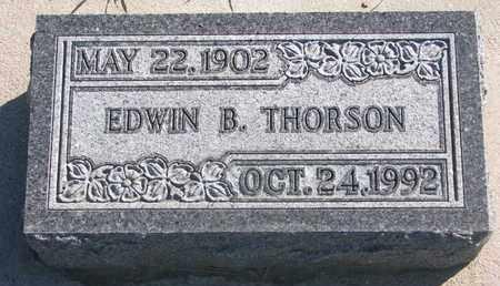 THORSON, EDWIN B. - Union County, South Dakota   EDWIN B. THORSON - South Dakota Gravestone Photos