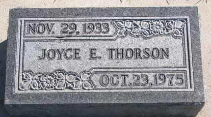 THORSON, JOYCE E. - Union County, South Dakota | JOYCE E. THORSON - South Dakota Gravestone Photos