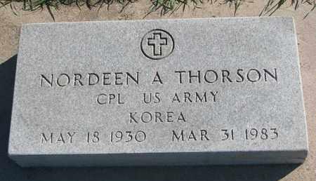 THORSON, NORDEEN A. (KOREA) - Union County, South Dakota | NORDEEN A. (KOREA) THORSON - South Dakota Gravestone Photos