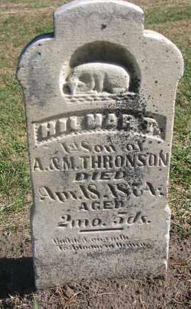 THRONSON, HILMAR T. - Union County, South Dakota | HILMAR T. THRONSON - South Dakota Gravestone Photos