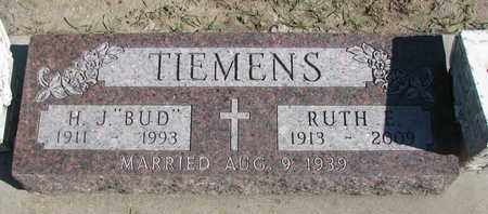 TIEMENS, RUTH E. - Union County, South Dakota | RUTH E. TIEMENS - South Dakota Gravestone Photos