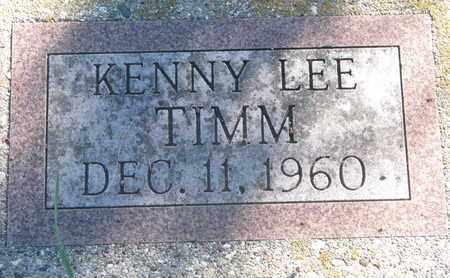 TIMM, KENNY LEE - Union County, South Dakota | KENNY LEE TIMM - South Dakota Gravestone Photos