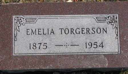 TORGERSON, EMELIA - Union County, South Dakota | EMELIA TORGERSON - South Dakota Gravestone Photos