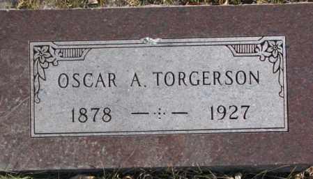TORGERSON, OSCAR A. - Union County, South Dakota | OSCAR A. TORGERSON - South Dakota Gravestone Photos