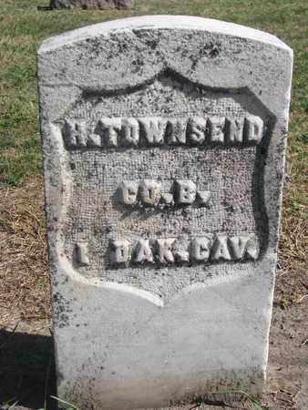 TOWNSEND, H. (MILITARY) - Union County, South Dakota | H. (MILITARY) TOWNSEND - South Dakota Gravestone Photos