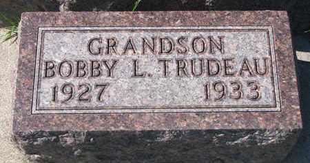 TRUDEAU, BOBBY L. - Union County, South Dakota | BOBBY L. TRUDEAU - South Dakota Gravestone Photos